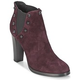 Alberto Gozzi  CAMOSCIO NEIVE  women's Low Ankle Boots in Red