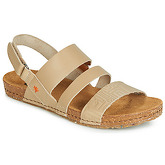 Art  CRETA  women's Sandals in Beige