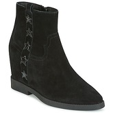 Ash  GOLDIE  women's Mid Boots in Black