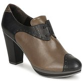 Audley  GETA LACE  women's Low Boots in Brown