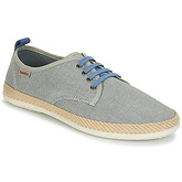 Bamba By Victoria  BLUCHER LINO CONTRASTE  men's Espadrilles / Casual Shoes in Grey