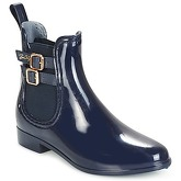 Be Only  INES  women's Wellington Boots in Blue