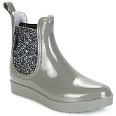 Be Only  CAROLINE  women's Wellington Boots in Silver