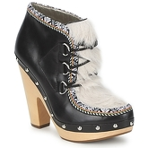 Belle by Sigerson Morrison  BLACKA  women's Low Boots in multicolour