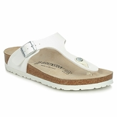 Birkenstock  GIZEH  women's Sandals in White