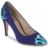 C.Petula  SNOWFLAKE  women's Heels in Blue