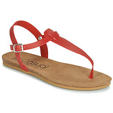 Casual Attitude  JALIYAXE  women's Sandals in Red