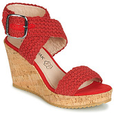 Chattawak  LADY  women's Sandals in Red