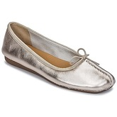 Clarks  FRECKLE ICE  women's Shoes (Pumps / Ballerinas) in Silver