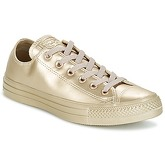 Converse  CHUCK TAYLOR ALL STAR LIQUID METALLIC OX LIQUID METALLIC OX GOLD  women's Shoes (Trainers) in Gold