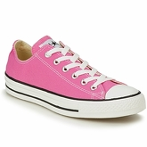 Converse  ALL STAR CORE OX  women's Shoes (Trainers) in Pink