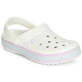 Crocs  CROCBAND SPORT CORD CLOG  women's Clogs (Shoes) in White