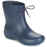 Crocs  FREESAIL SHORTY RAIN BOOT  women's Wellington Boots in Blue