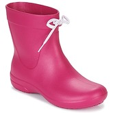 Crocs  CROCS FREESAIL SHORTY BOOTS  women's Wellington Boots in Pink