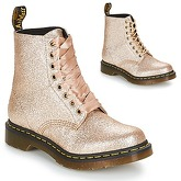 Dr Martens  1460 PASCAL GLITTER  women's Mid Boots in Gold