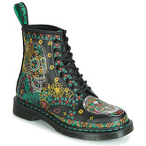 Dr Martens  1460 SKULL BACKHAND  women's Mid Boots in Multicolour