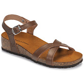 Dream in Green  JAKALFRED  women's Sandals in Brown