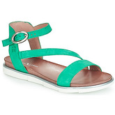 Dream in Green  JECOULI  women's Sandals in Green