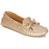 Elia B  SOFTY  women's Loafers / Casual Shoes in Beige