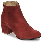 Emma Go  ELNA  women's Low Ankle Boots in Red