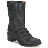 Espace  DORPIN  women's Mid Boots in Black