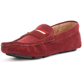 Reservoir Shoes  Moccasin with square toe  men's Loafers / Casual Shoes in Red