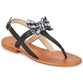 Mellow Yellow  DALLYDOLLY  women's Sandals in Black