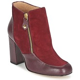 Fericelli  CHANTEVO  women's Low Ankle Boots in Red