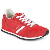 Hackett  PEMBROOK  men's Shoes (Trainers) in Red