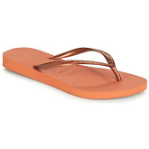 Havaianas  SLIM  women's Flip flops / Sandals (Shoes) in Orange