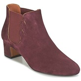 Heyraud  FRANCELLE  women's Low Ankle Boots in Red