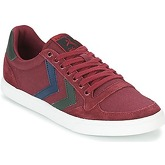 Hummel  SLIMMER STADIL DUO CANVAS LOW  women's Shoes (Trainers) in Red
