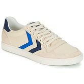 Hummel  SLIMMER STADIL DUO CANVAS LOW  women's Shoes (Trainers) in White