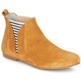 Ippon Vintage  PATCH FLYBOAT  women's Mid Boots in Yellow
