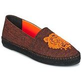 Kenzo  TIGER FLUO CANVAS MIXED  women's Espadrilles / Casual Shoes in Orange