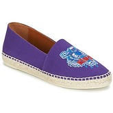 Kenzo  CLASSIC ESPADRILLES TIGER  women's Espadrilles / Casual Shoes in Purple