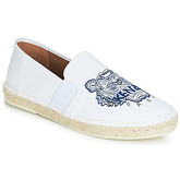 Kenzo  ELASTIC ESPADRILLE  men's Espadrilles / Casual Shoes in White