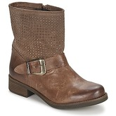 Keys  LOCK  women's Mid Boots in Brown