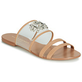 KG by Kurt Geiger  PIA VINYL SANDAL  women's Mules / Casual Shoes in Brown