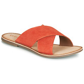 Kickers  DIAZ  women's Mules / Casual Shoes in Orange
