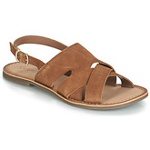 Kickers  DILANI  women's Sandals in Brown