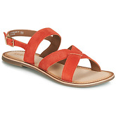 Kickers  DIBA  women's Sandals in Orange