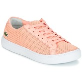 Lacoste  L.12.12 LIGHTWEIGHT1181  women's Shoes (Trainers) in Pink