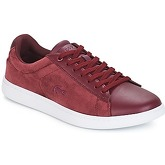 Lacoste  CARNABY EVO 318 8  women's Shoes (Trainers) in Red