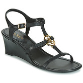Lauren Ralph Lauren  ELINA  women's Sandals in Black