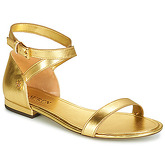 Lauren Ralph Lauren  DAVISON  women's Sandals in Gold
