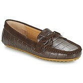 Lauren Ralph Lauren  BRILEY II  women's Loafers / Casual Shoes in Brown