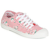 Le Temps des Cerises  BASIC 02  women's Shoes (Trainers) in Red