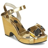 Lola Ramona  BOZALI  women's Sandals in Gold