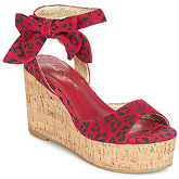 Lola Ramona  NINA  women's Sandals in Red